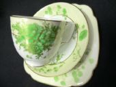 Beautiful Adderley Art Deco tea trio
